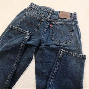 Vintage | Levi's 550 Tapered High Waist Mom Jean